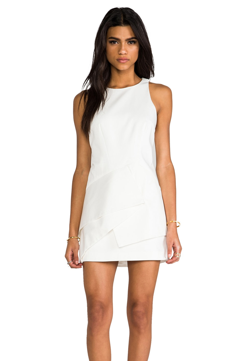 Finders Keepers Sin City Dress in Ivory