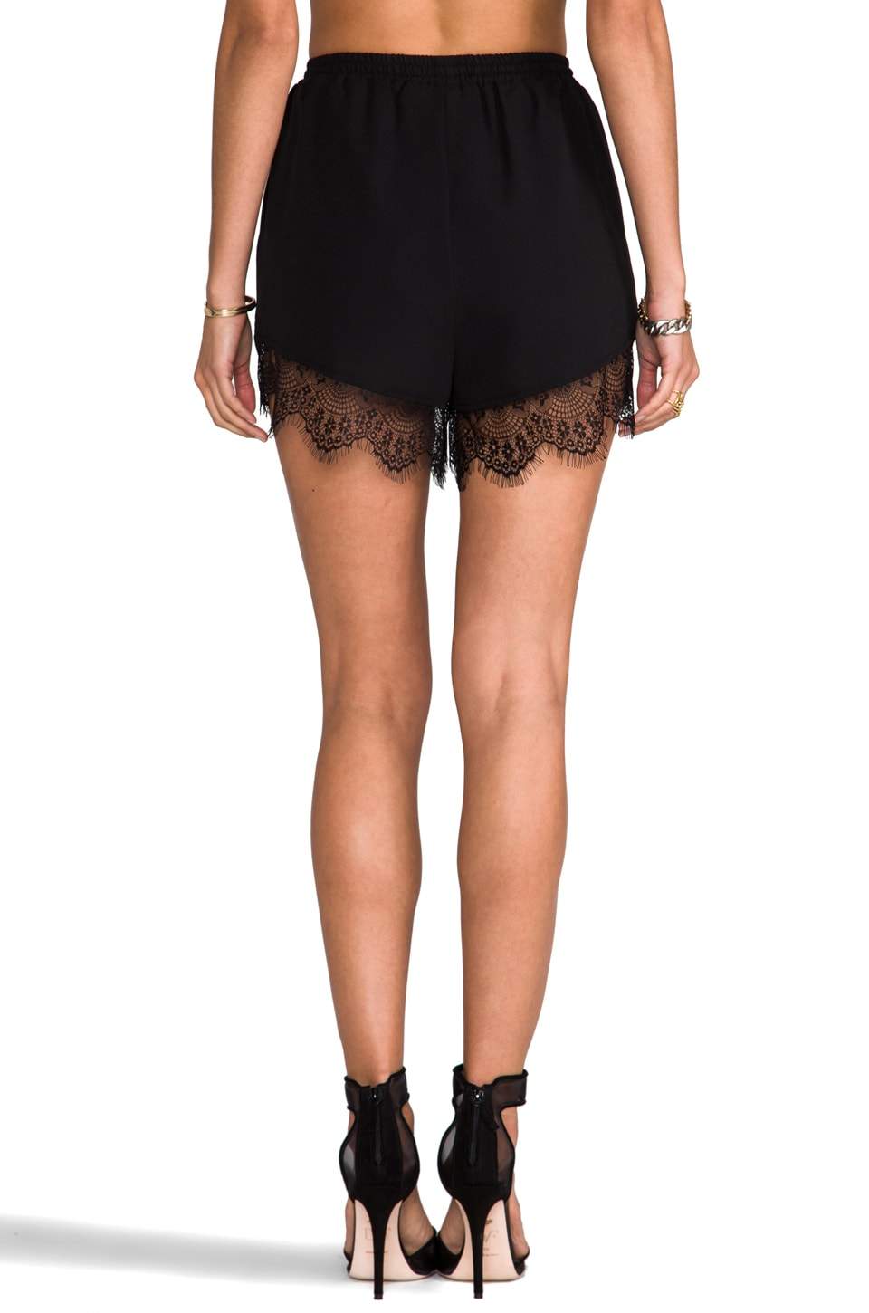 Finders Keepers Firehouse Short in Black