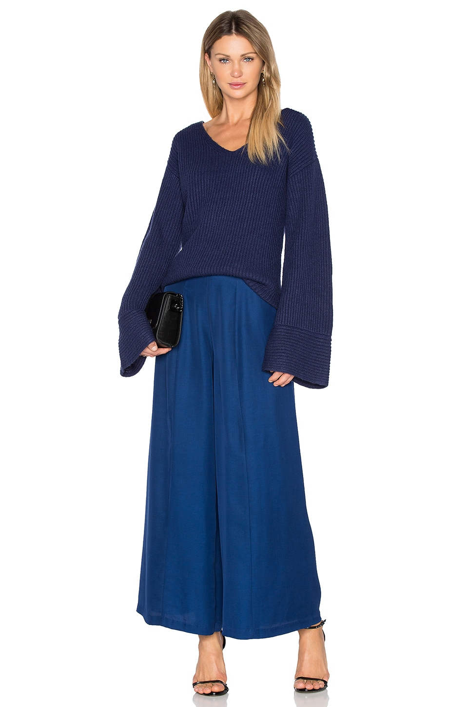 Frederick Flare Sleeve Knit by Finders Keepers