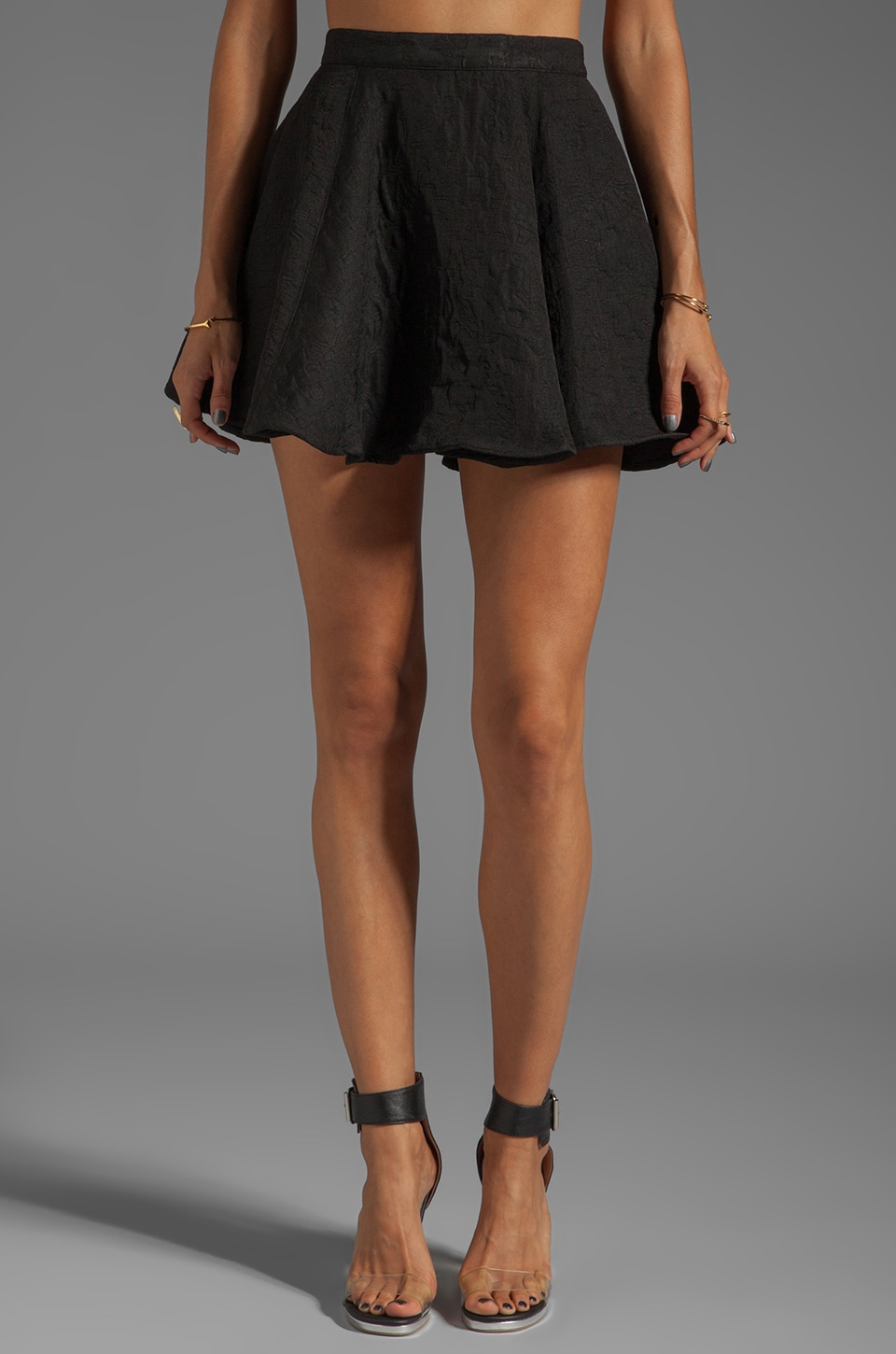 Finders Keepers Great Deception Skirt in Black