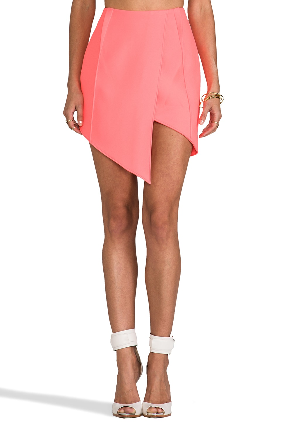 Finders Keepers Jump The Fall Skirt in Sherbet