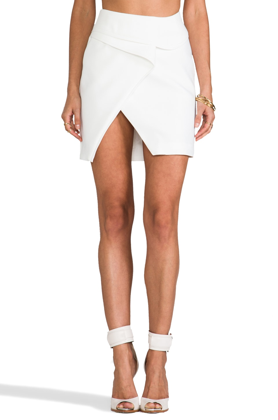 Finders Keepers For You Skirt in White