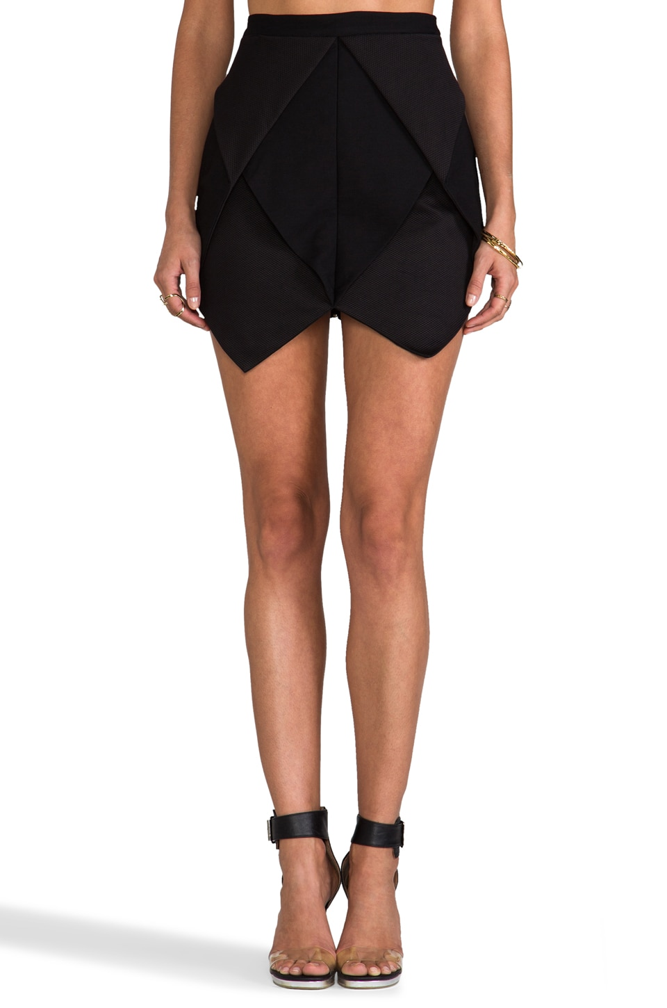 Finders Keepers Last Good Bye Skirt in Black