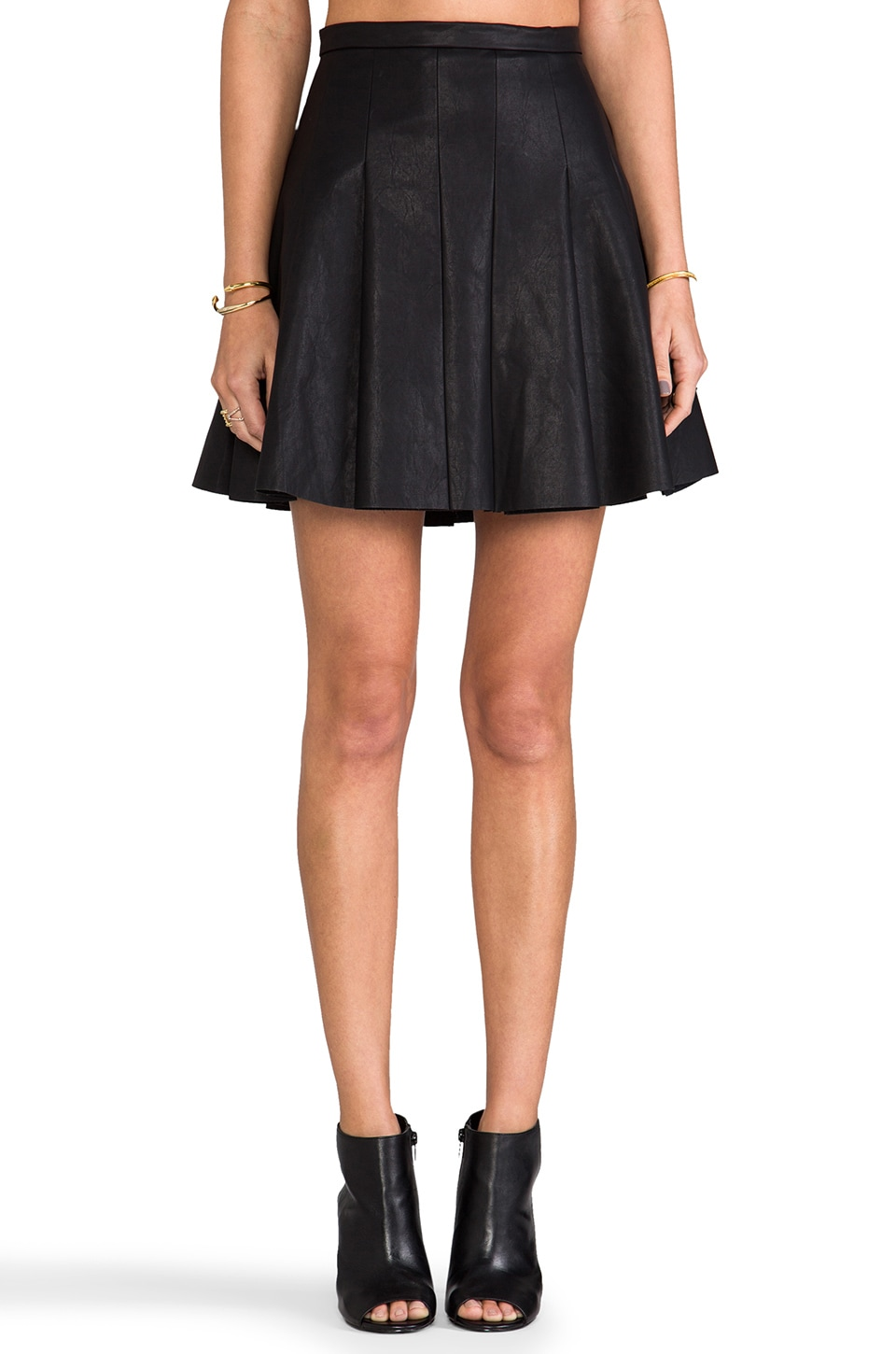 Finders Keepers New Earth Skirt in Black