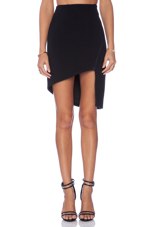 Love Drunk Asymmetrical Skirt by Finders Keepers