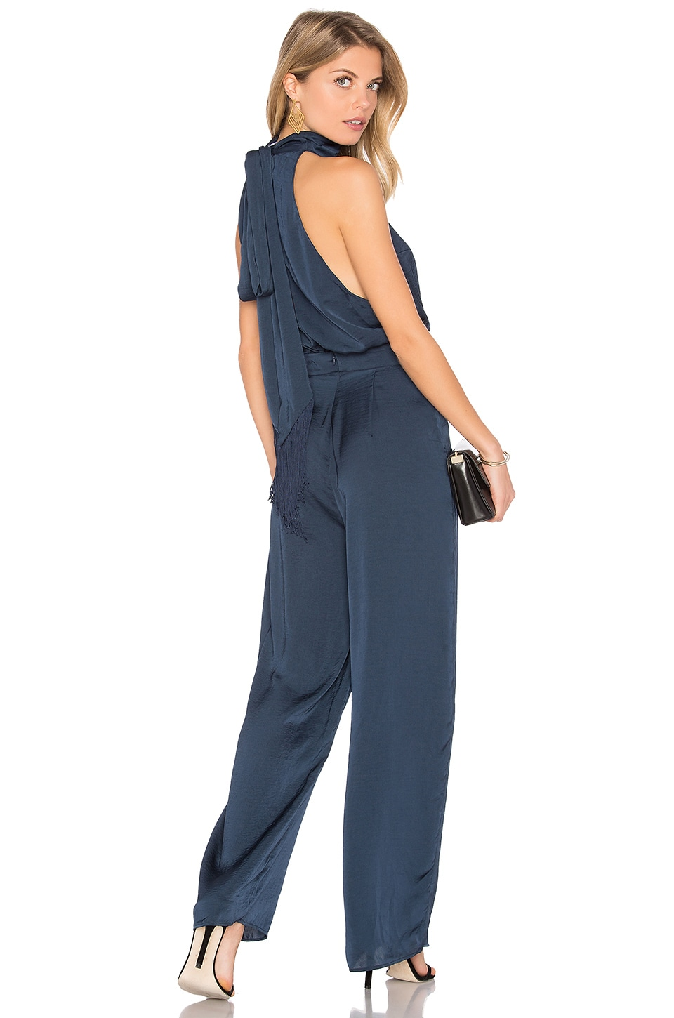 Finders Keepers Cyrus Jumpsuit in Charcoal