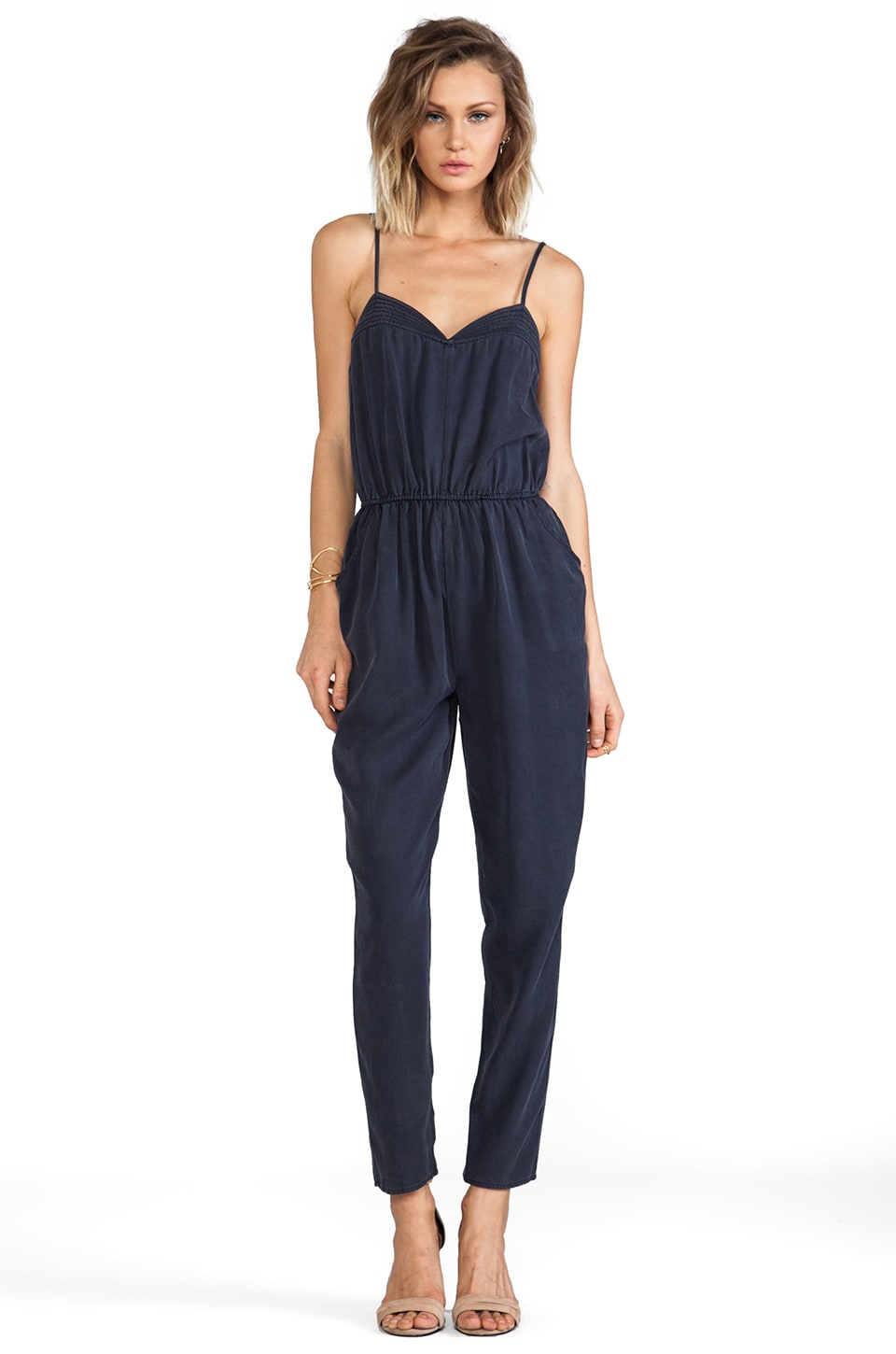 Finders Keepers Metropolis Jumpsuit in Navy