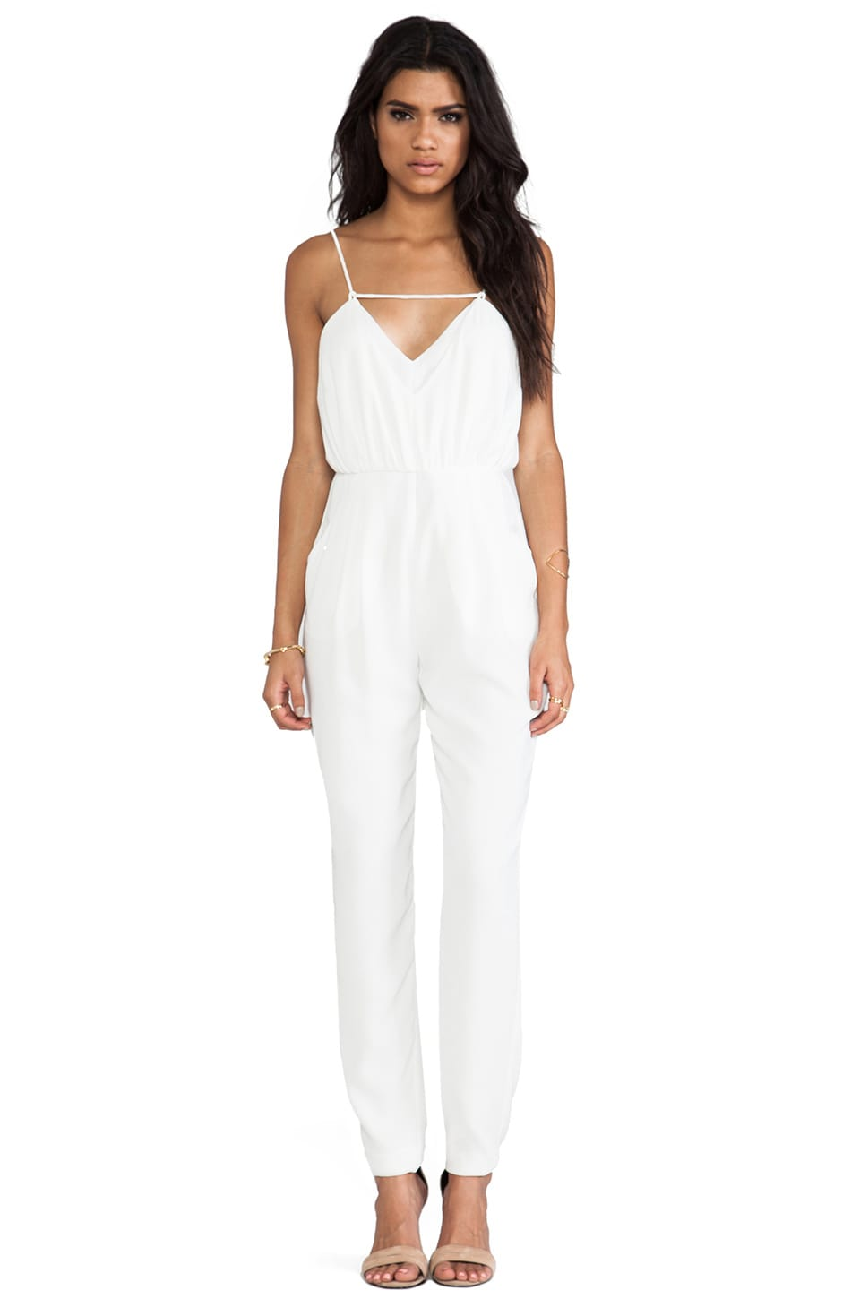 Finders Keepers The Someday Jumpsuit in Ivory