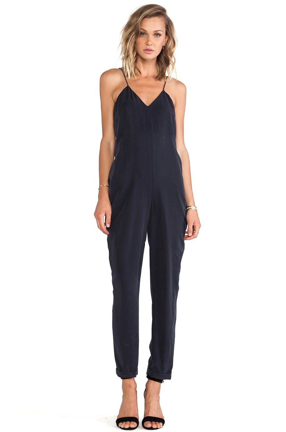 Finders Keepers Love Me Do Jumpsuit in Navy