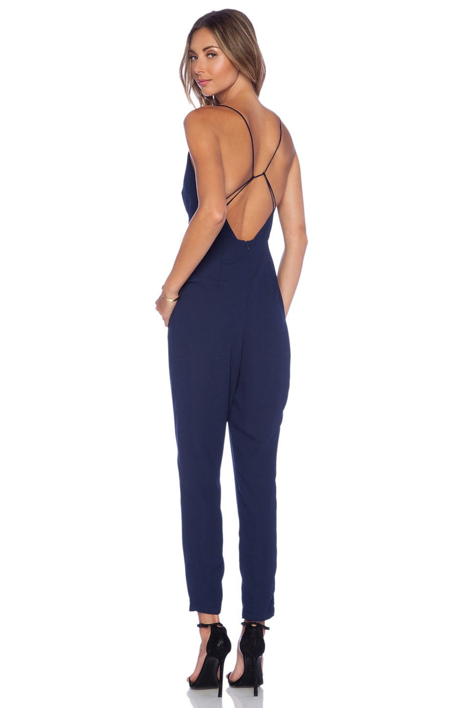Finders Keepers All Time High Cut Out Back Jumpsuit in
