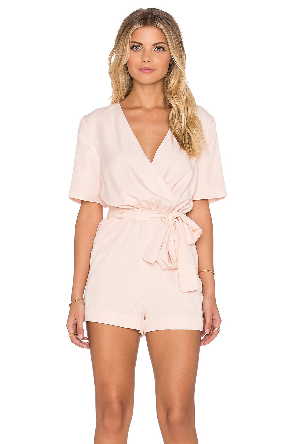 Finders Keepers The Rewind Playsuit in Shell