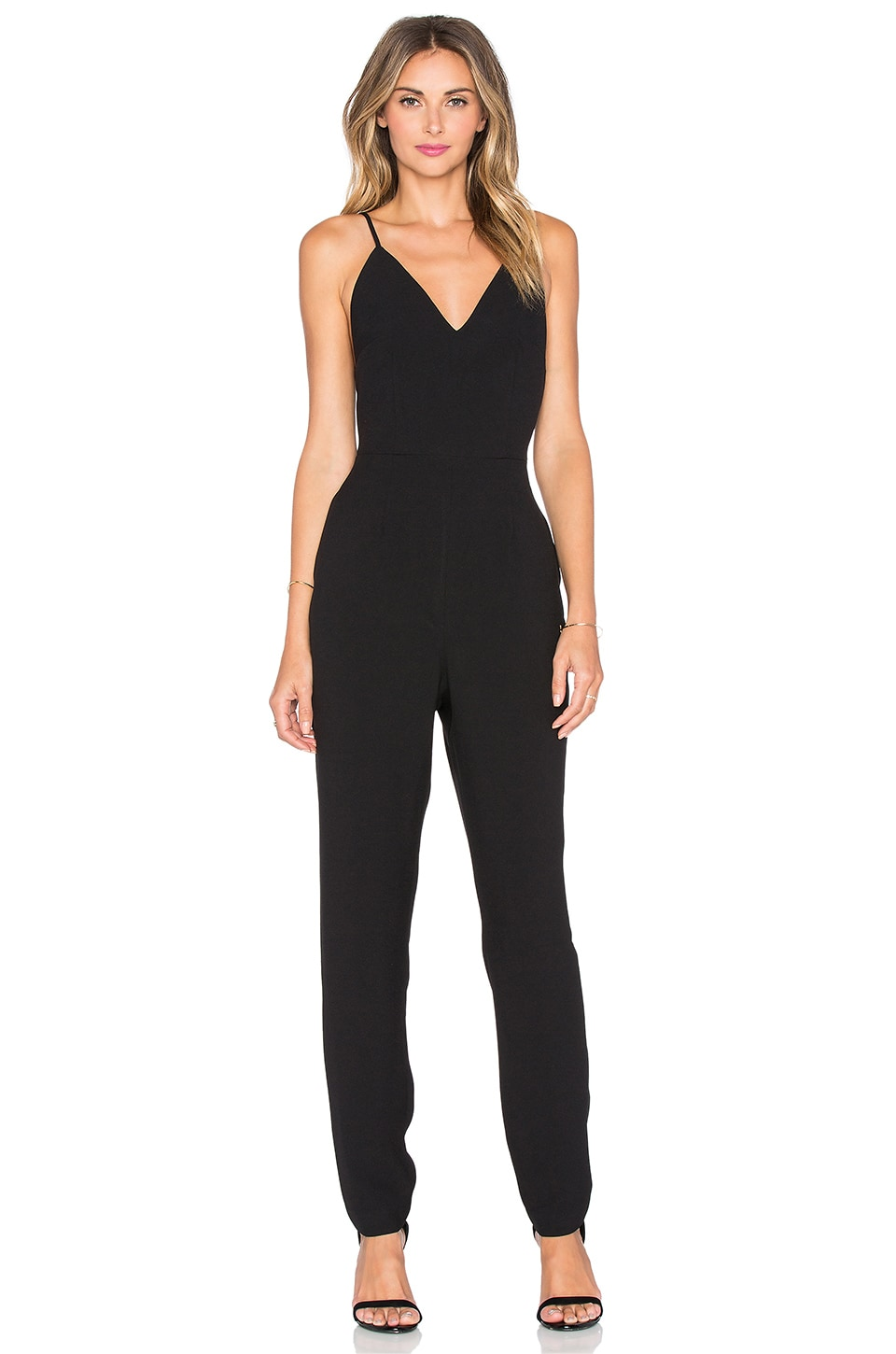 6a9d6bfc8fa9 Finders Keepers Stand Still Jumpsuit in Black
