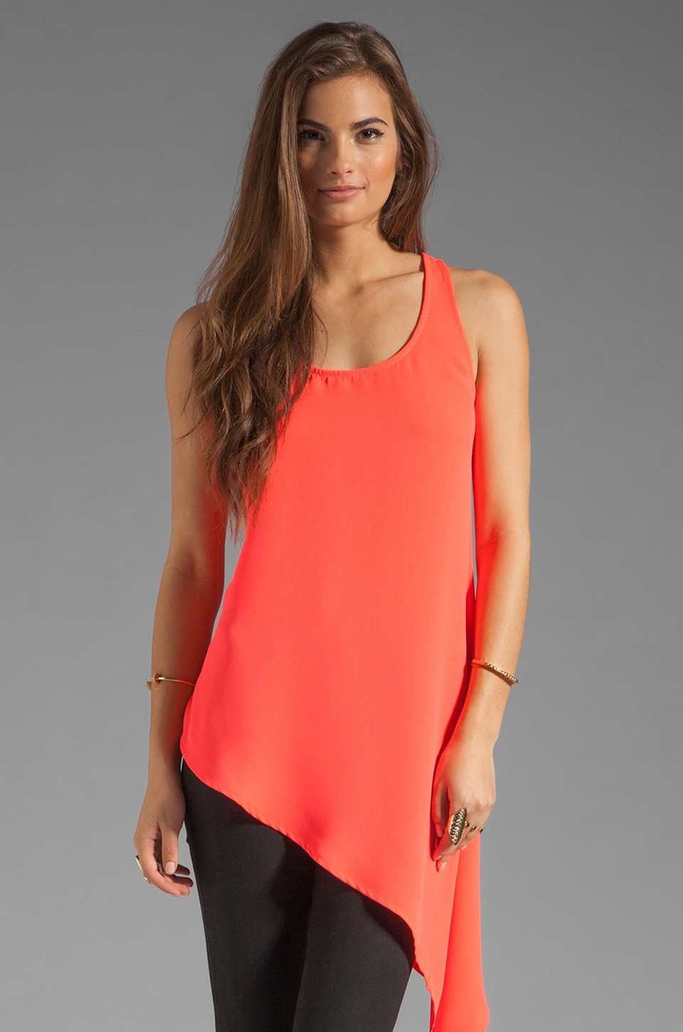 Finders Keepers City Home Tank in Neon Fizz