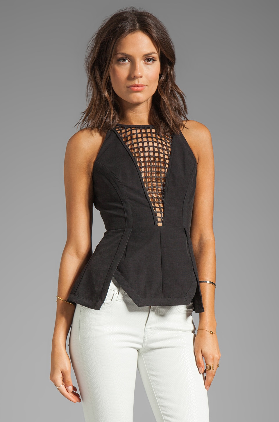 Finders Keepers By the Way Top in Black