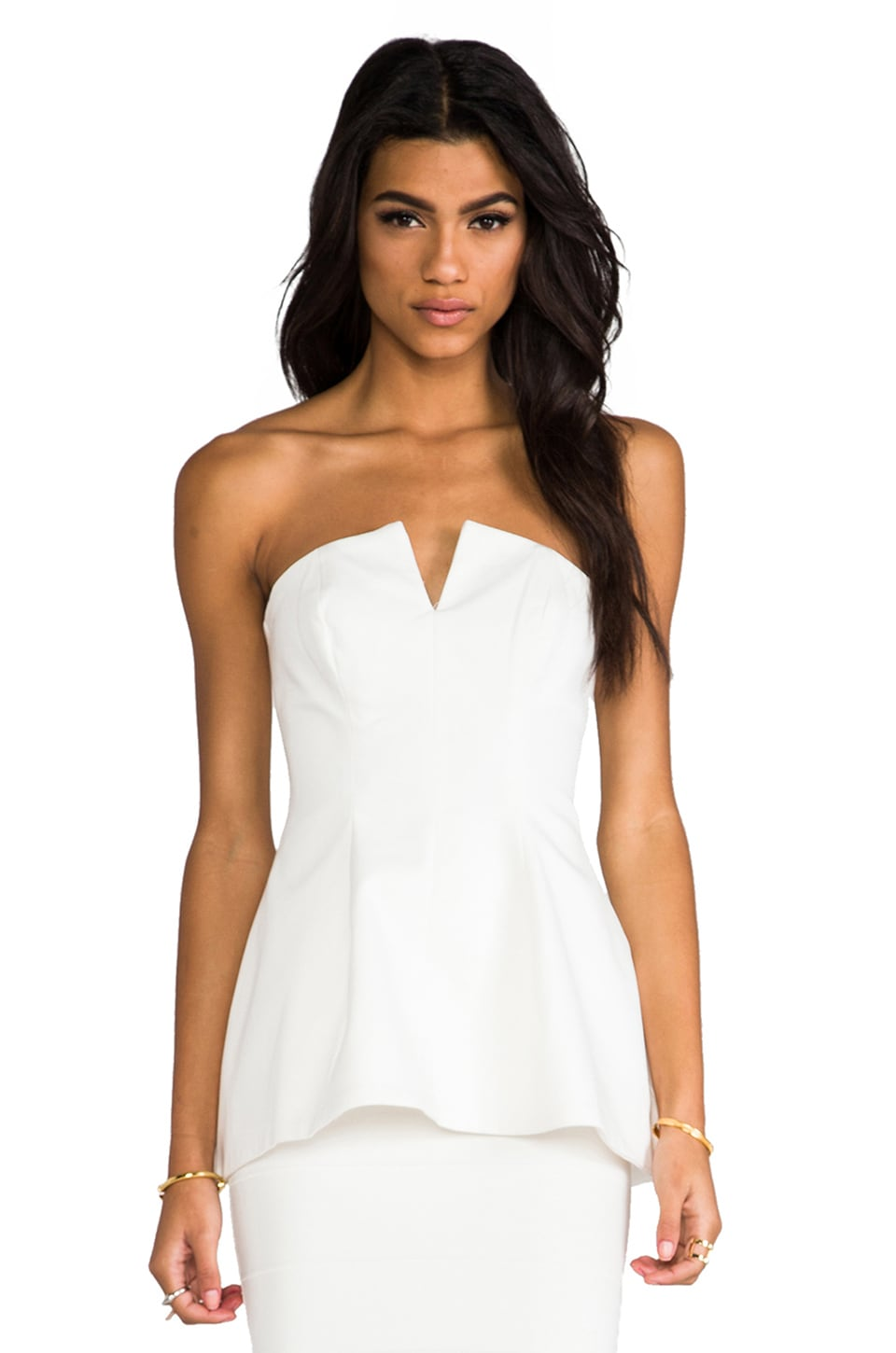 Finders Keepers Million Dollar Baby Bustier in Ivory