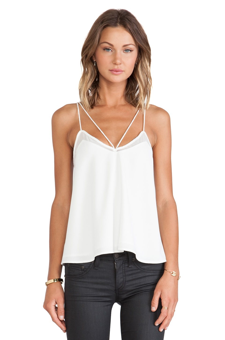 Finders Keepers At It Again Top in White