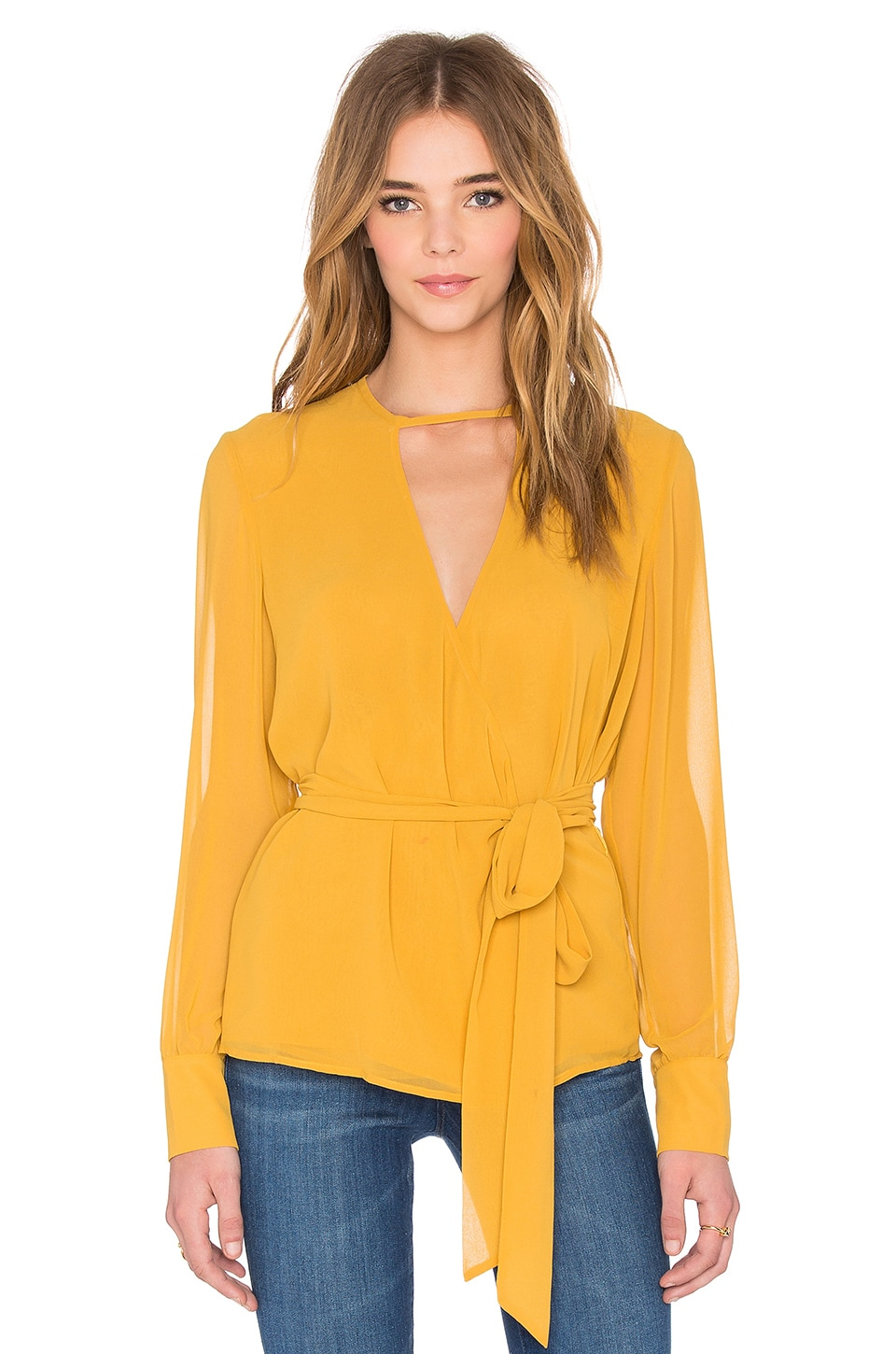 Finders Keepers Float On Top in Mustard