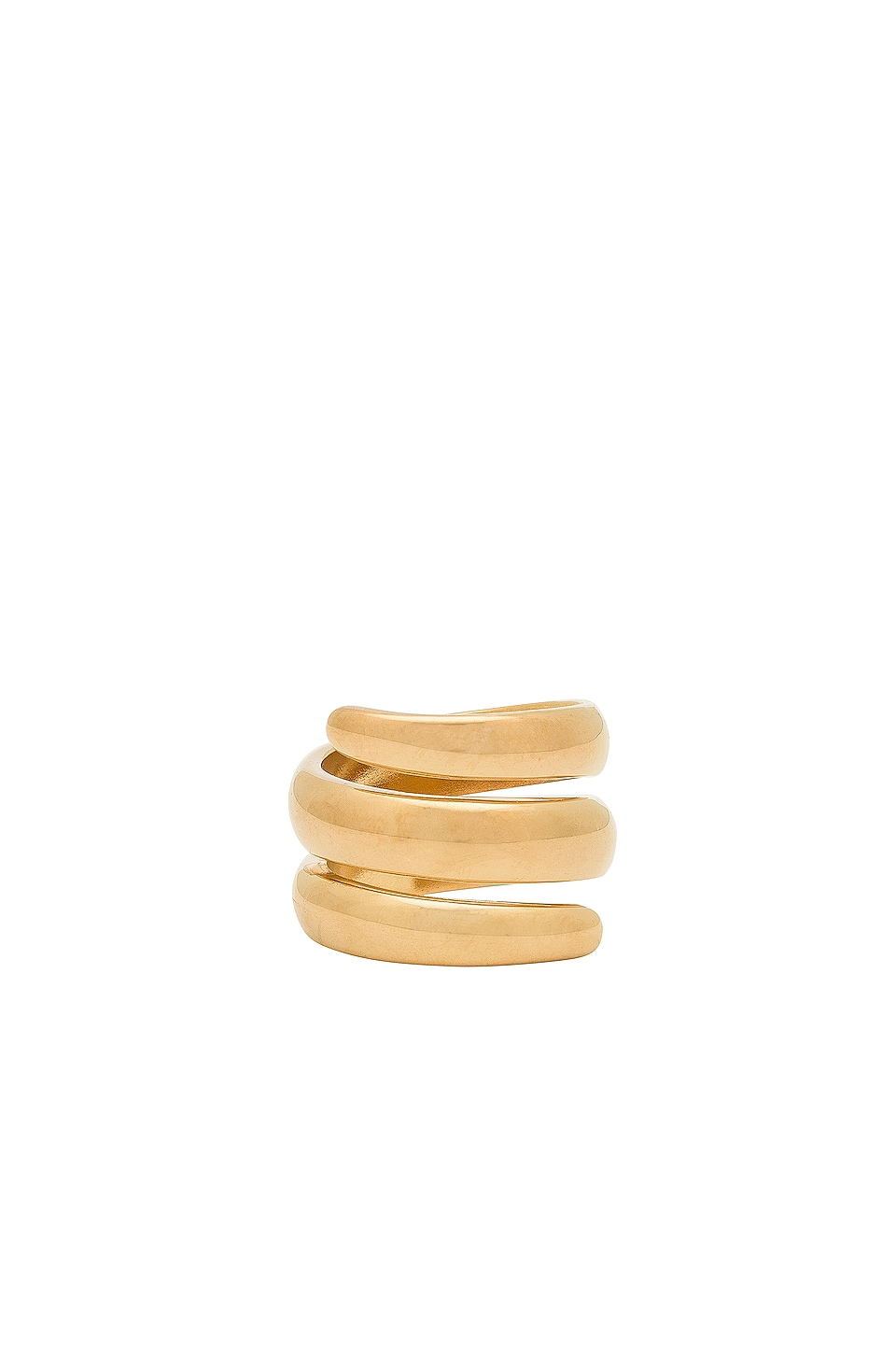 Five and Two Jess Wrap Around Ring in Gold