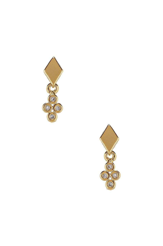 Amara Geometric Stud Earrings