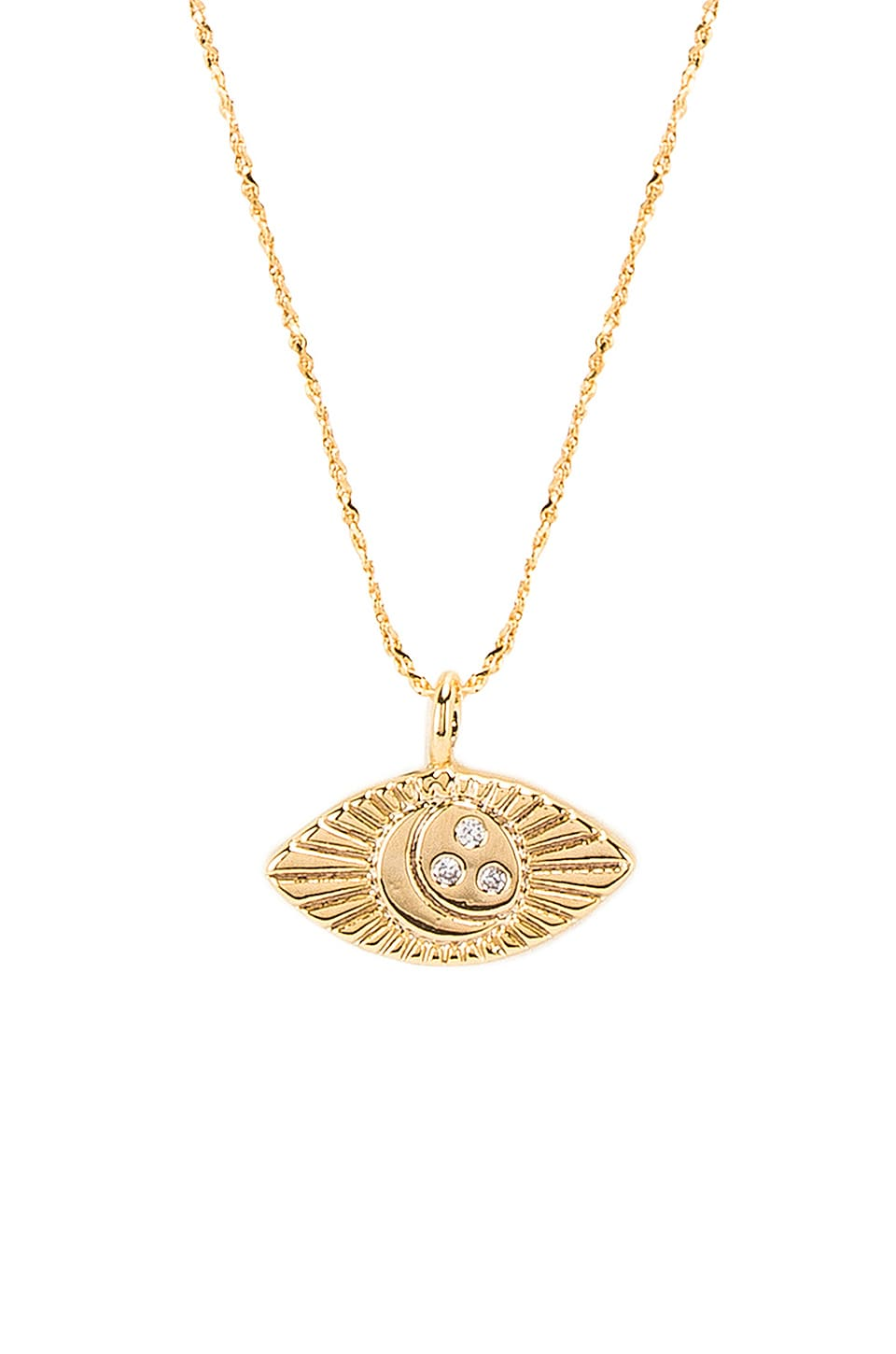 Five and Two Camryn Necklace in Gold