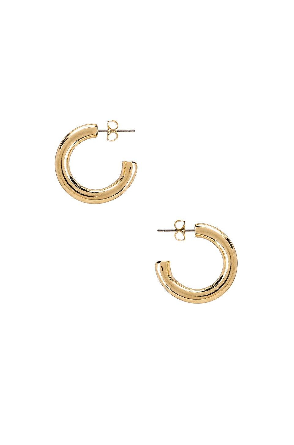 Five and Two Harper Chunky Hoop Earrings in Gold