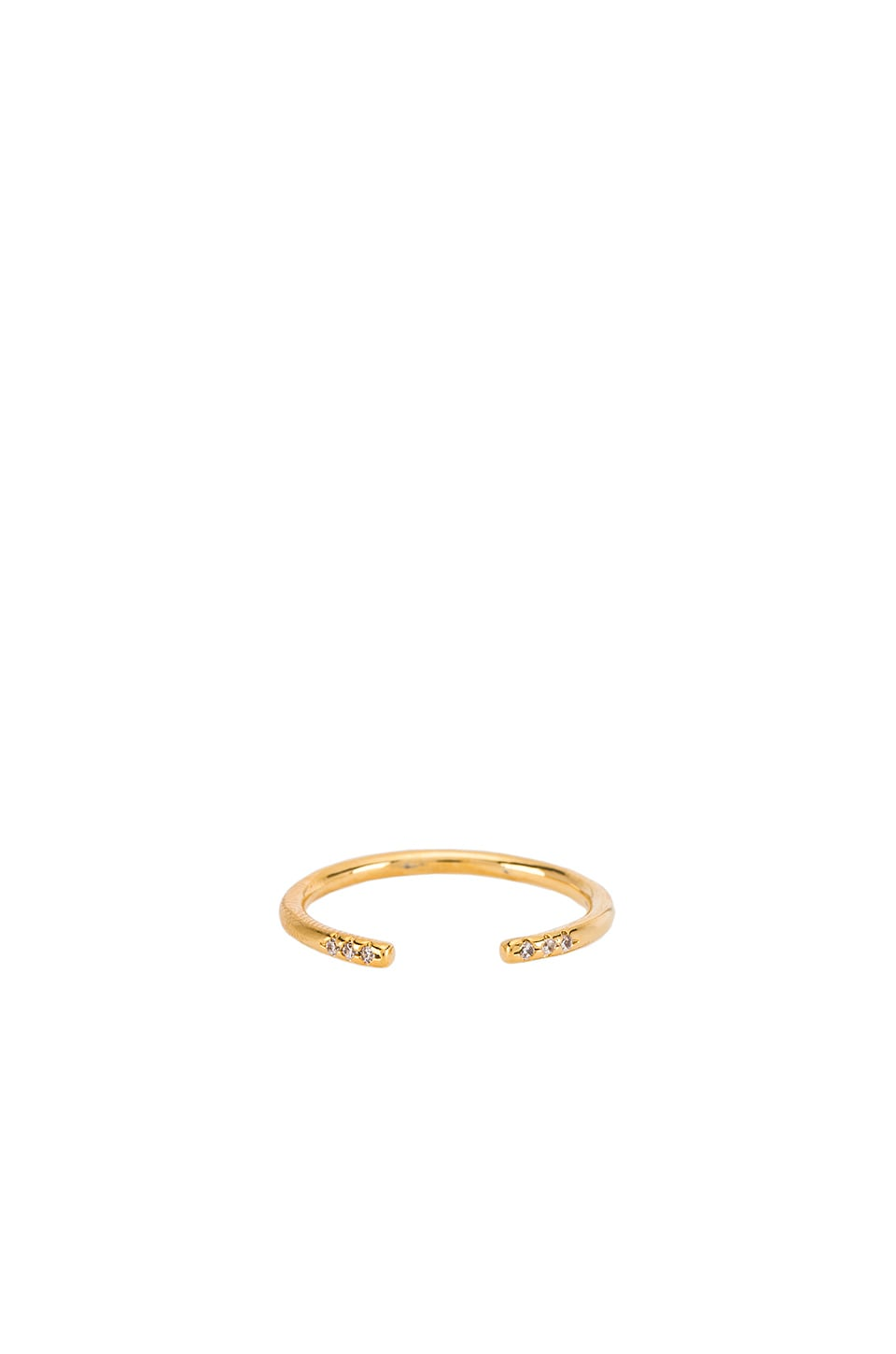 Five and Two Cody Ring in Gold