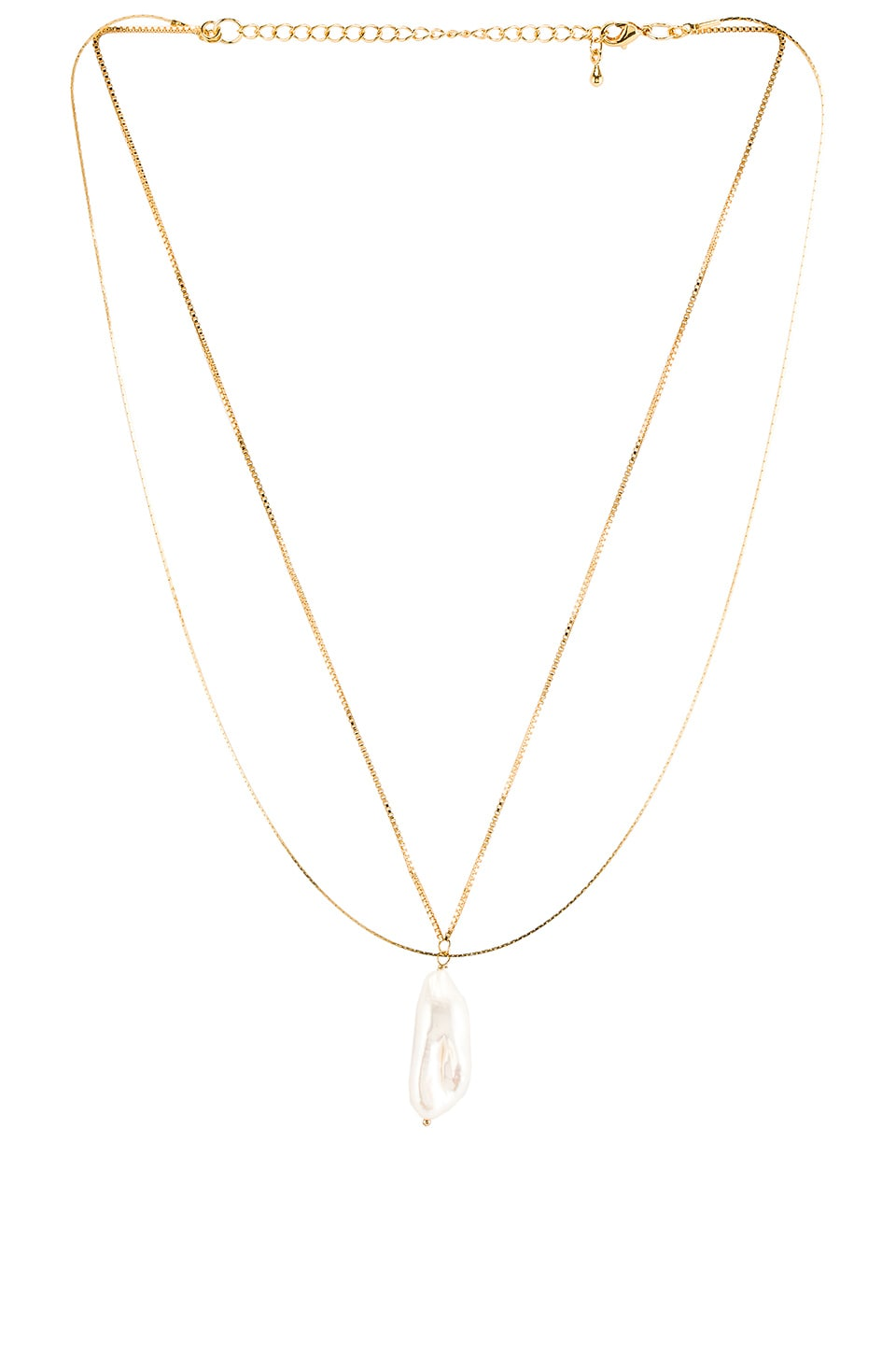 Five and Two Lynn Necklace in Gold