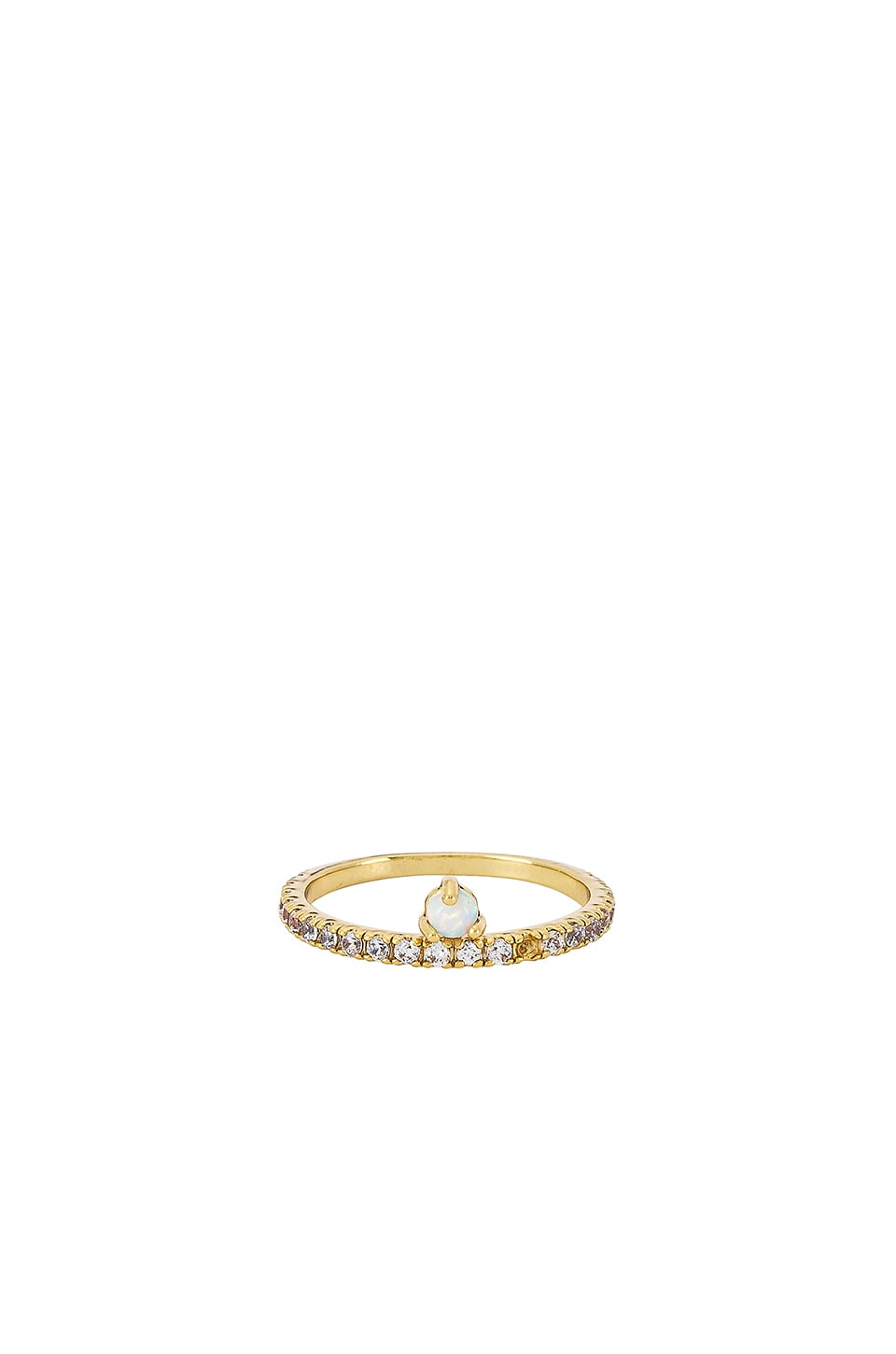 Five and Two Nadia Ring in Gold