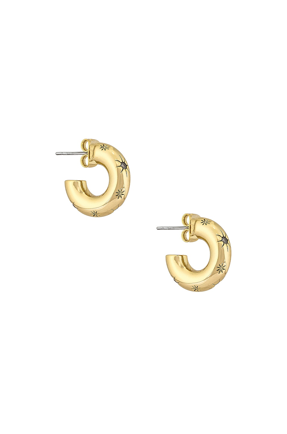 Five and Two Arya Earrings in Gold