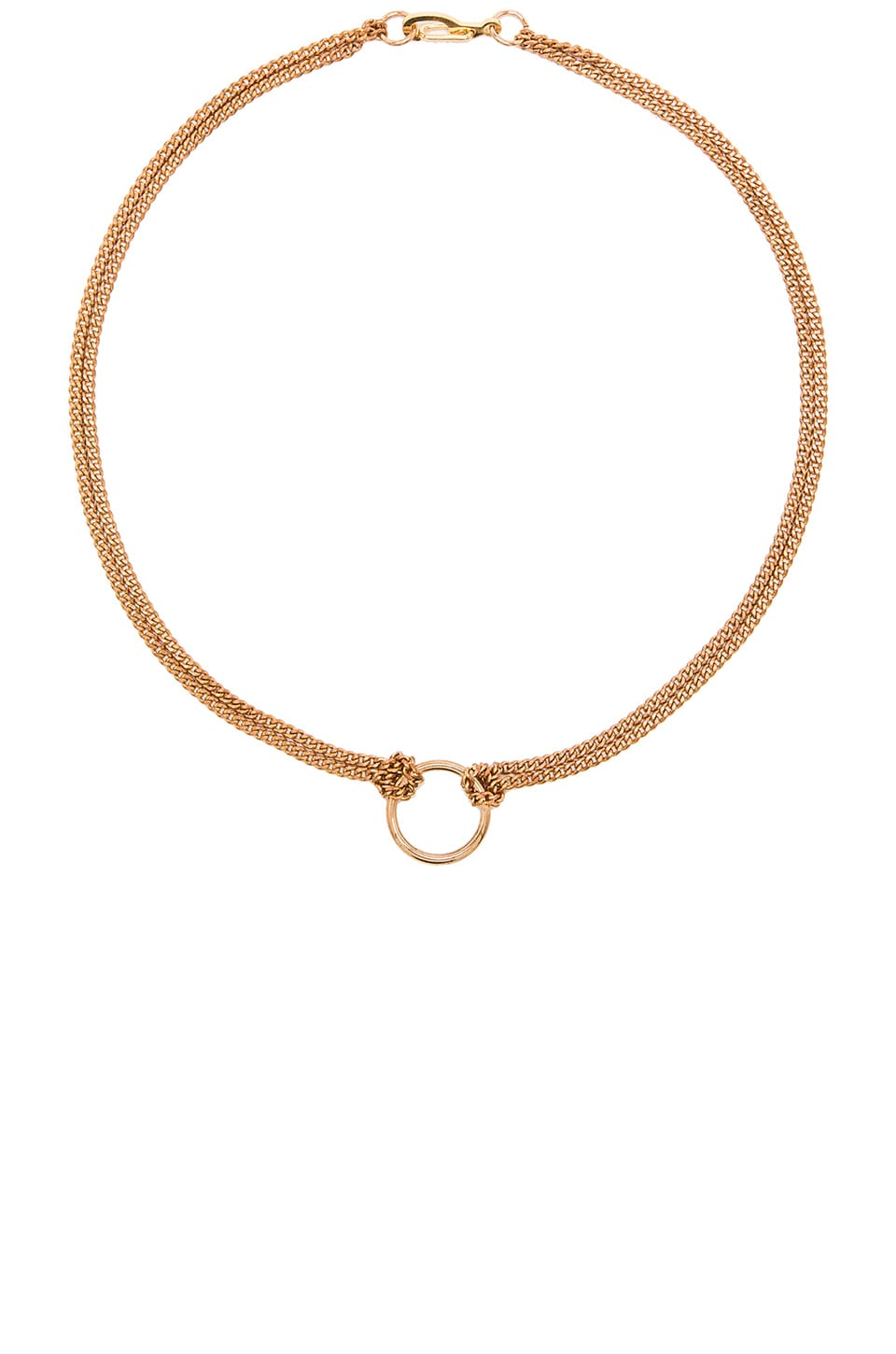 Five and Two Dylan Necklace in Gold