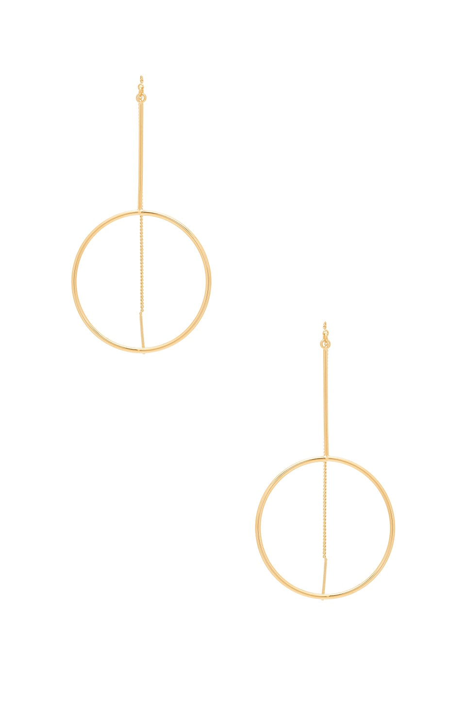 Five and Two Diego Earring in Gold