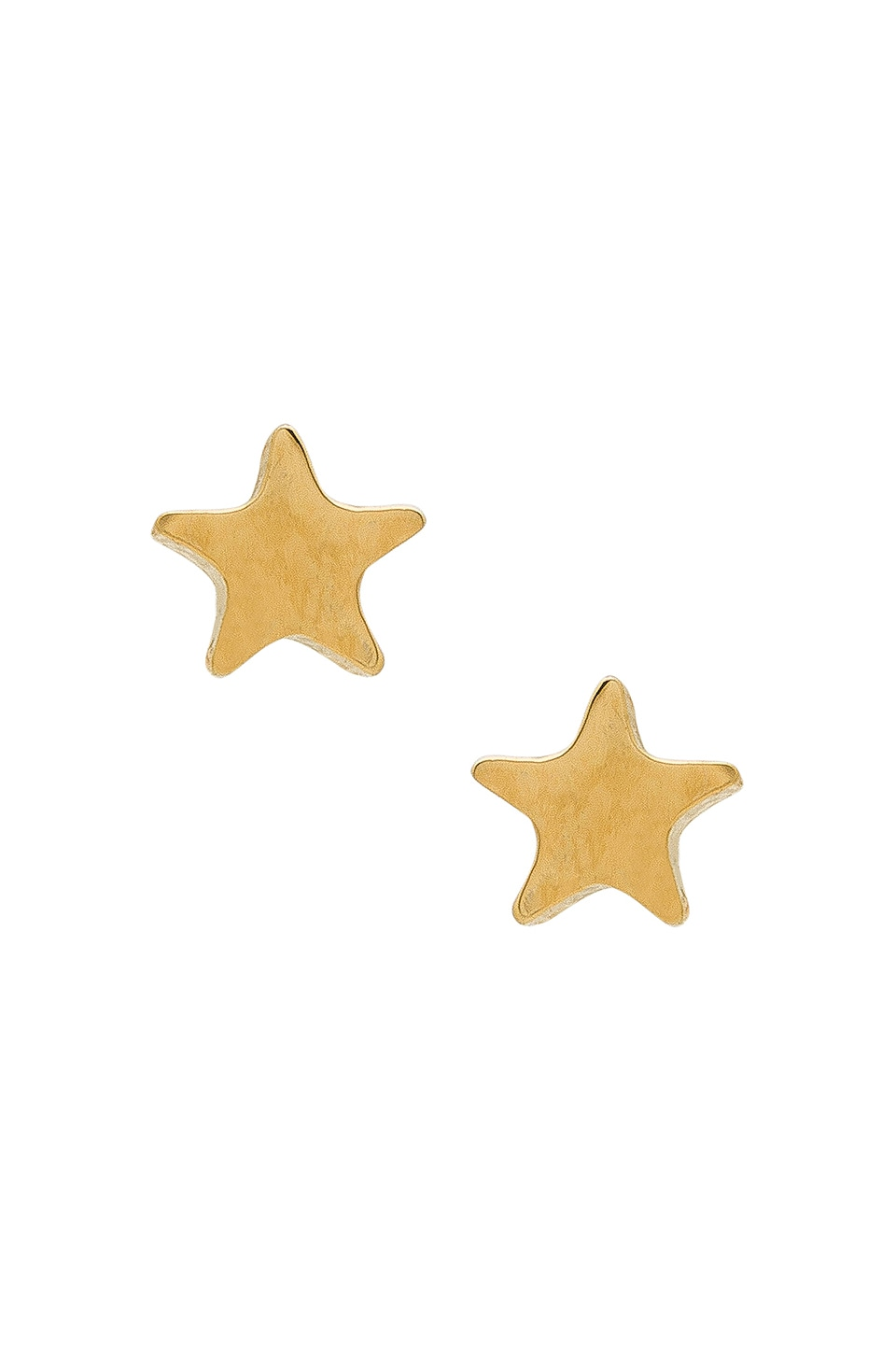 FIVE AND TWO TESS TINY STAR EARRINGS