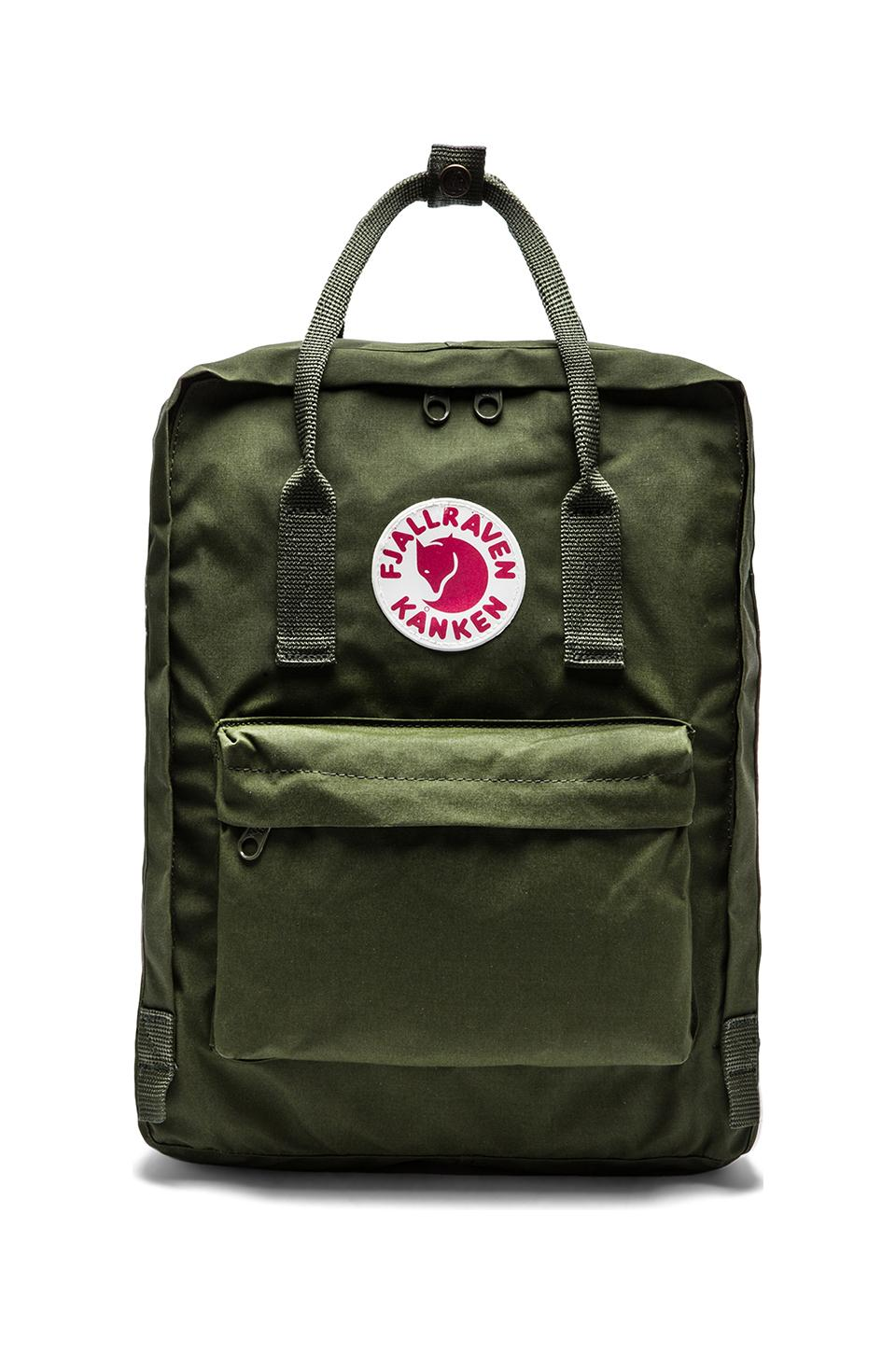Fjallraven Kanken in Green