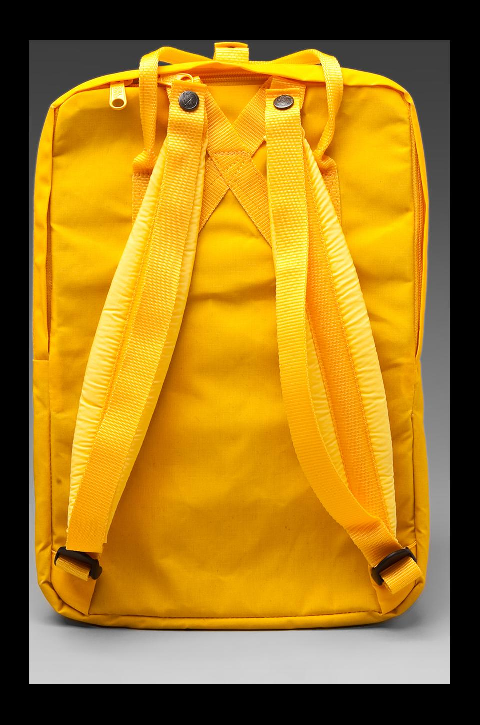 "Fjallraven Kanken 15"" Laptop Pack in Warm Yellow"