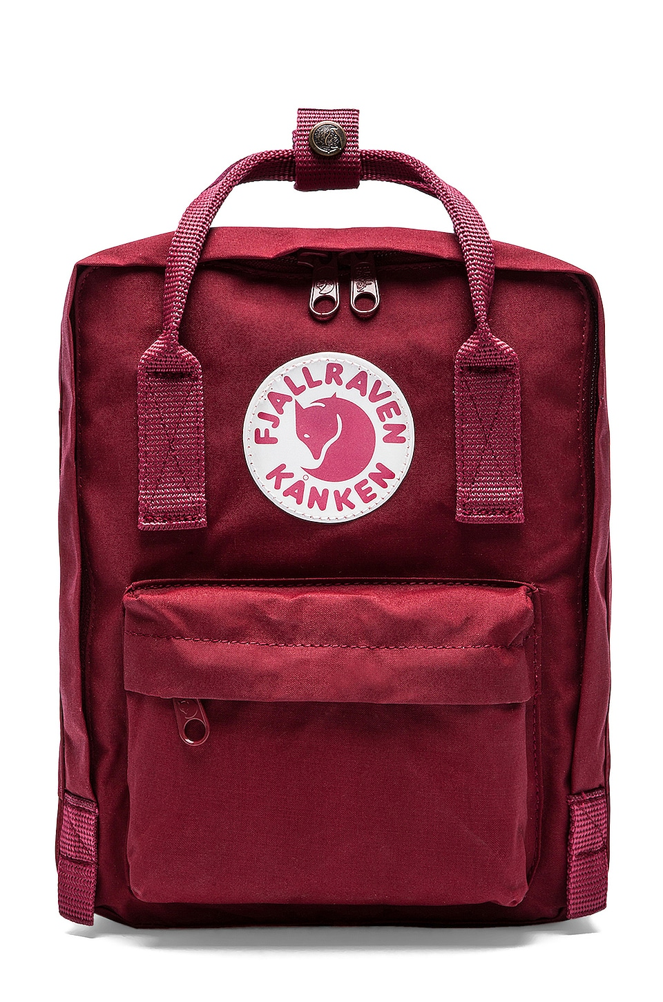 Fjallraven Kanken Mini in Ox Red