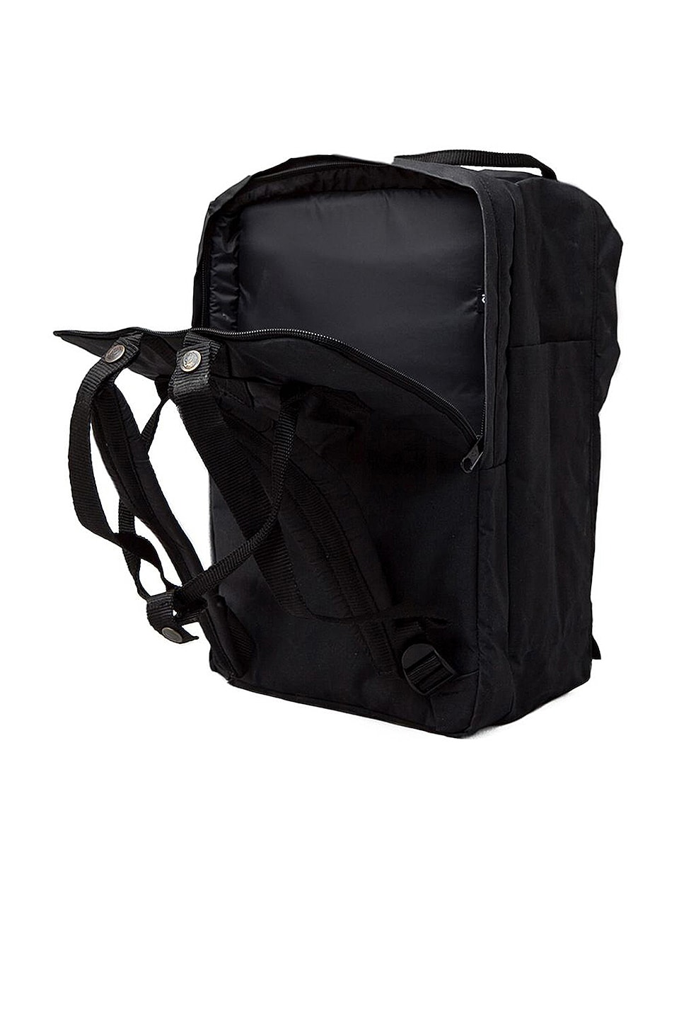 "Fjallraven Kanken 15"" Laptop Pack en Noir"