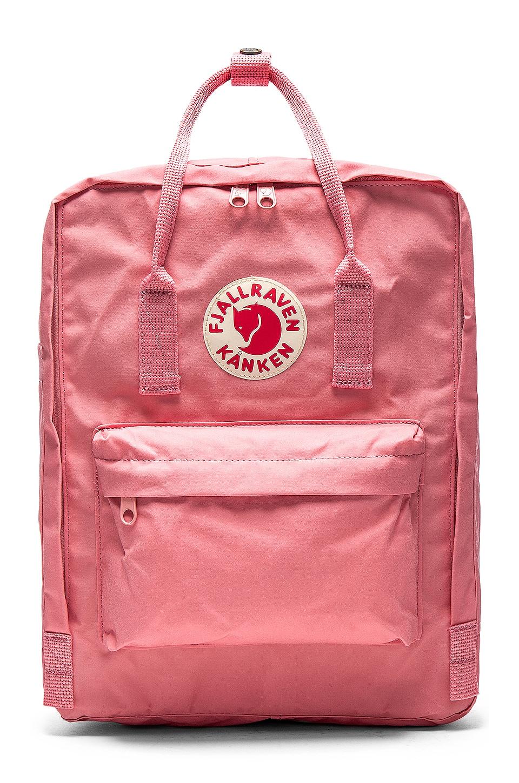 Fjallraven Kanken in Pink
