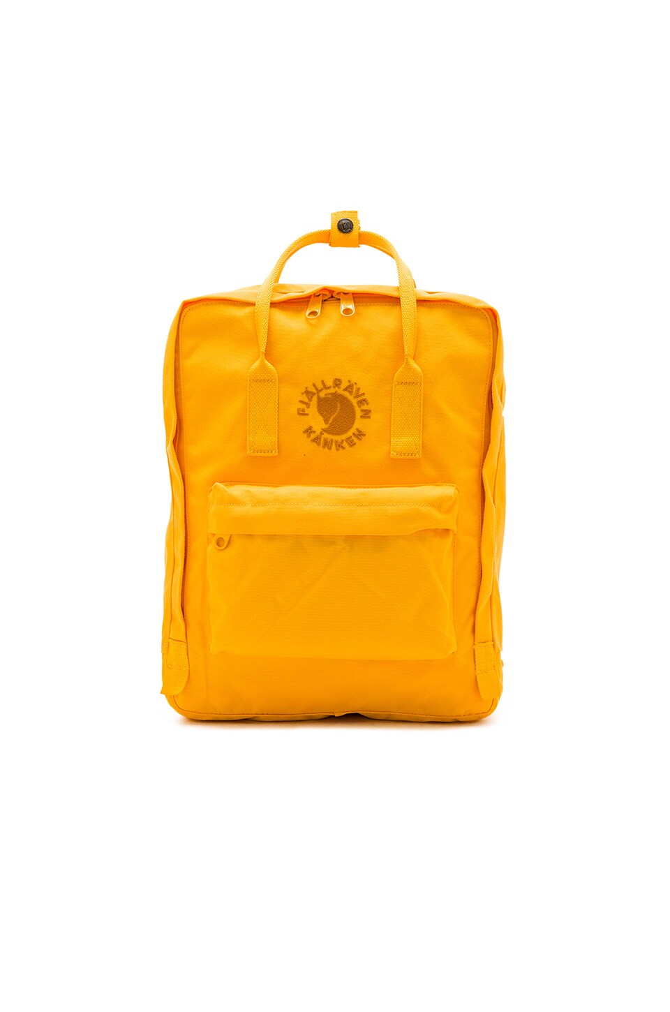 Fjallraven Re-Kanken in Sunflower Yellow