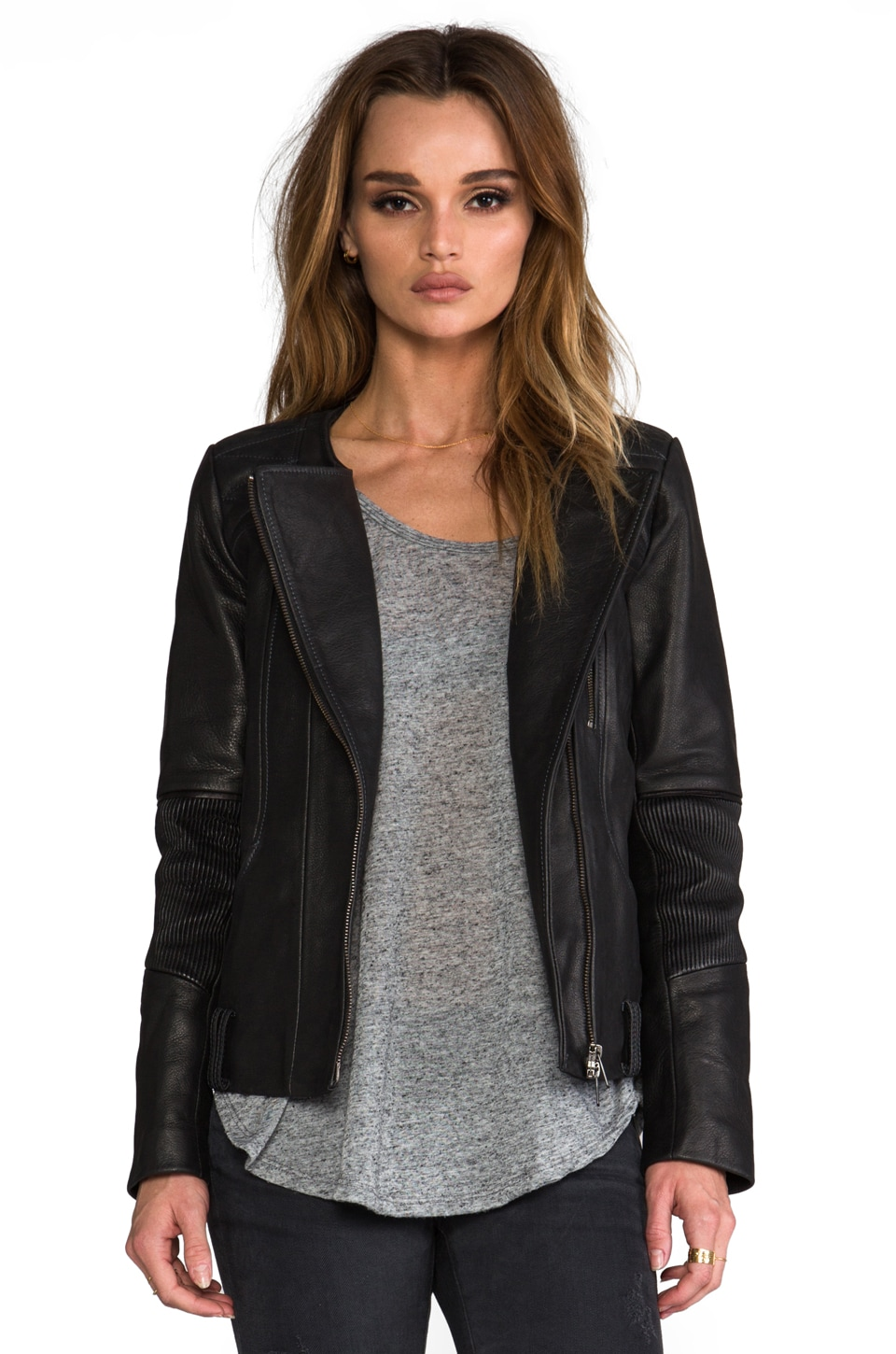 Francis Leon Rogue Jacket in Black