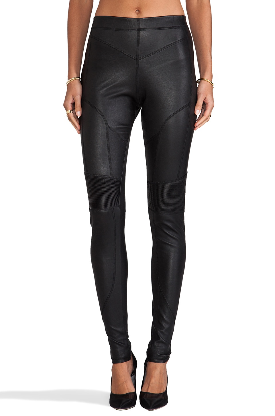 Francis Leon Hero Squad Legging in Black