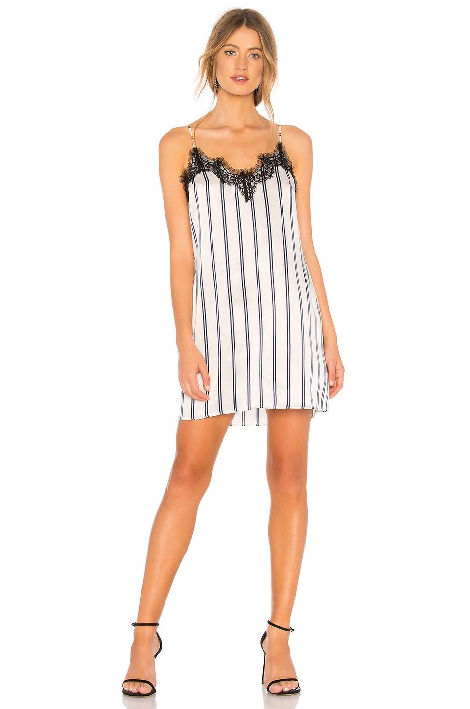 Lace Applique Slip Dress
