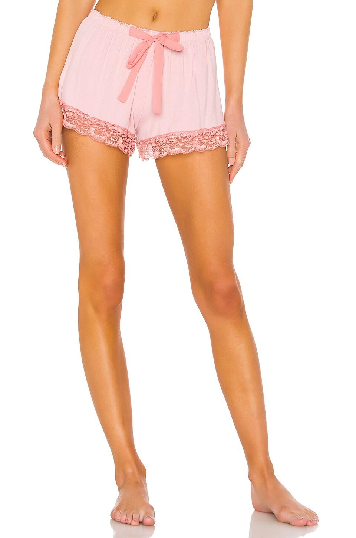Flora Nikrooz Snuggle Short in Peach Skin