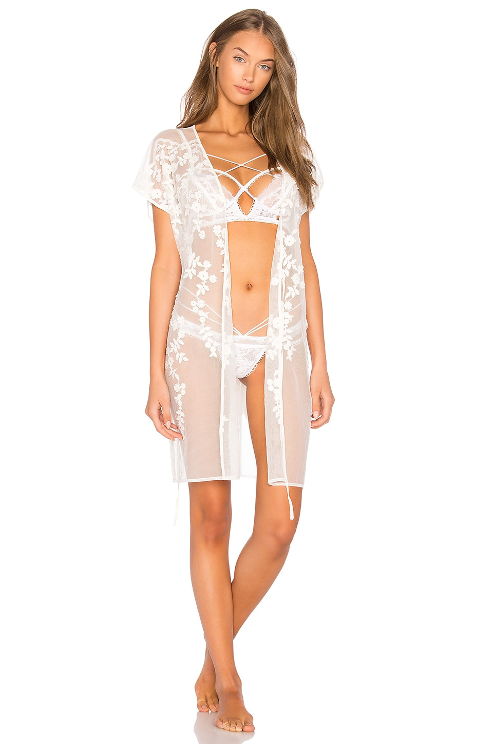 Evette Robe by Flora Nikrooz