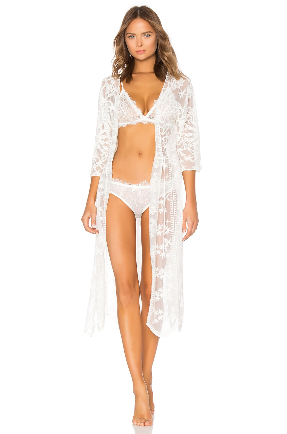 Tracey Embroidered Robe