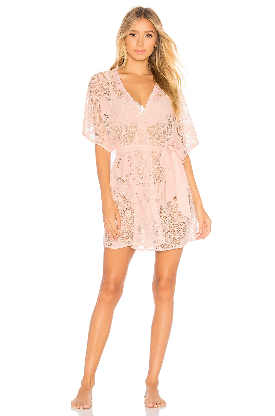 All Over Lace Robe