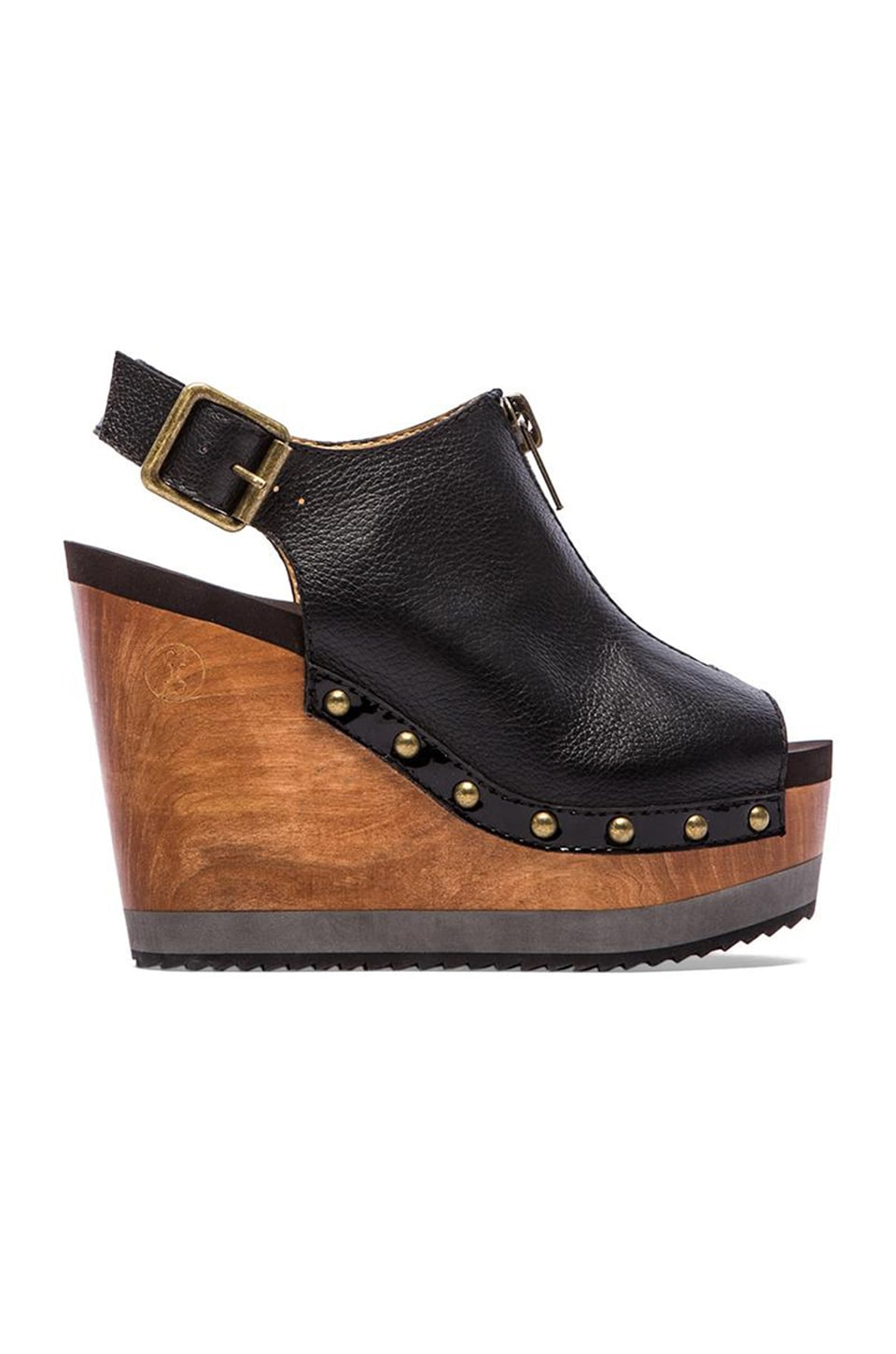 Flogg Chaya Wedge in Black