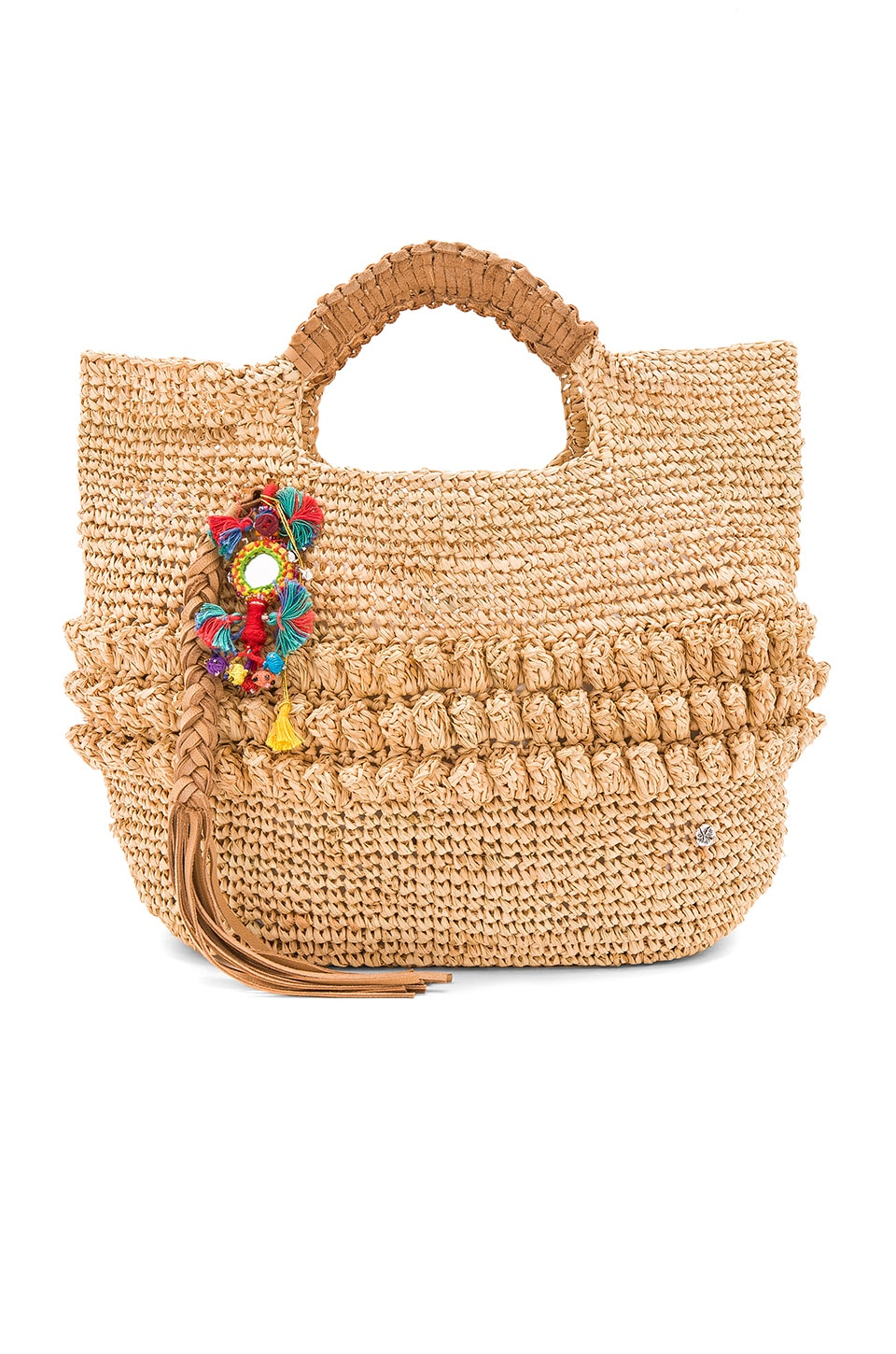florabella Exumas Tote in Natural Multi