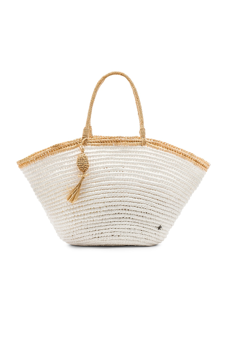 florabella Montanita Bag in White & Natural
