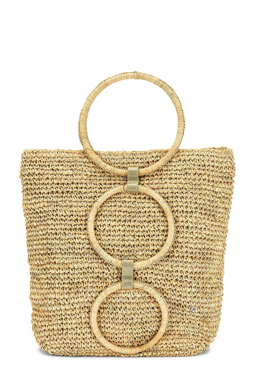 florabella Venlo Bag in Natural & Gold