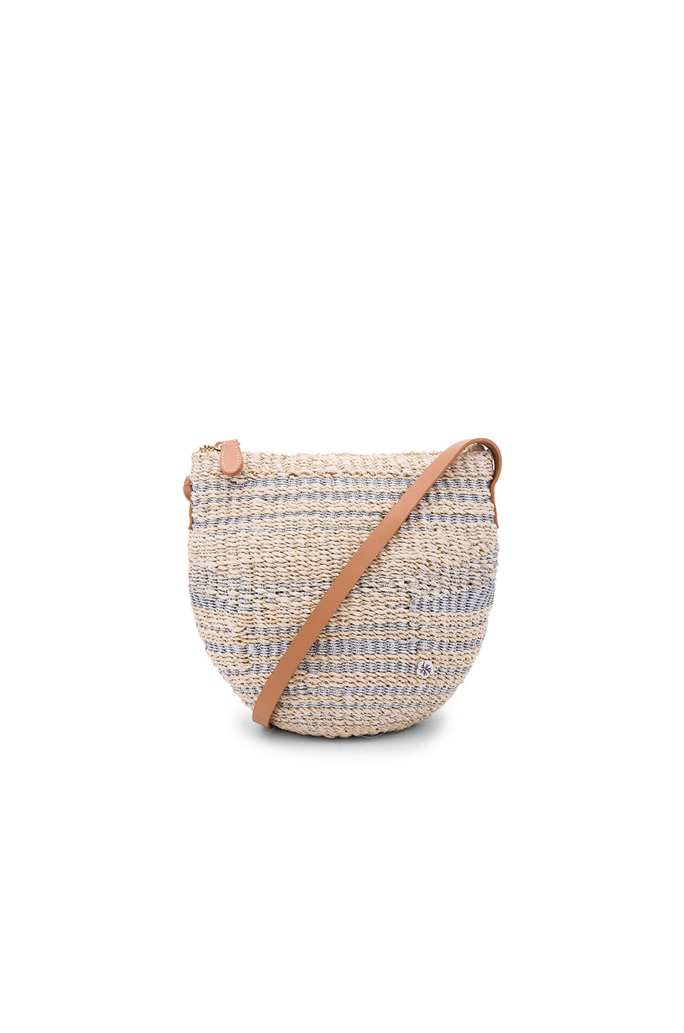 florabella Torcello Crossbody in Bleached & Silver